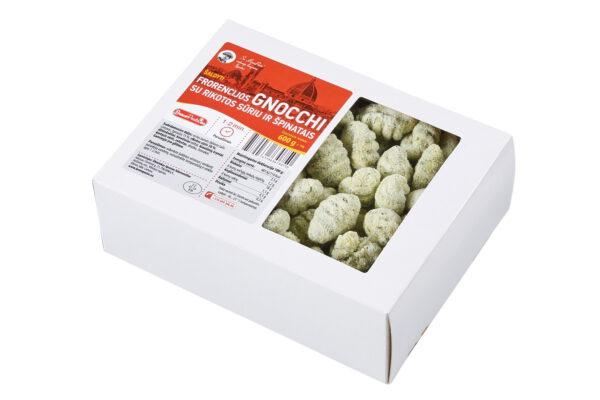 Šaldyti Florencijos gnocchi su rikotos sūriu ir špinatais